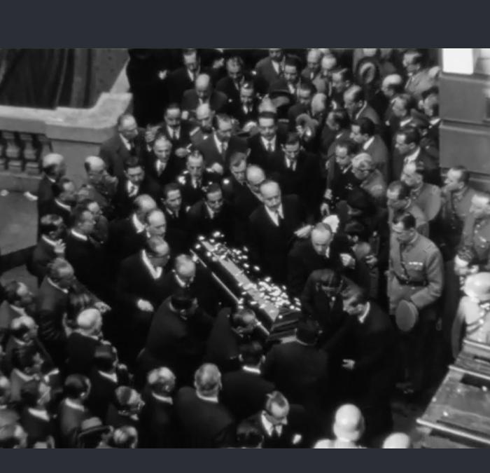 Funerales de Arturo Alessandri Palma