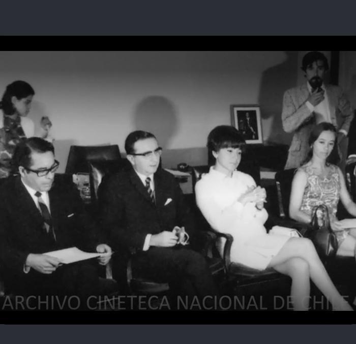 Actividades del Ministro de Educación Máximo Pacheco
