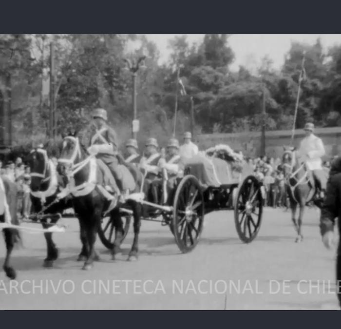 Traslado de los restos de Gabriela Mistral a Montegrande